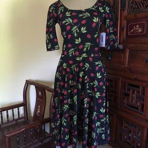 Lularoe ladybug 🐞 print Nicole dress!